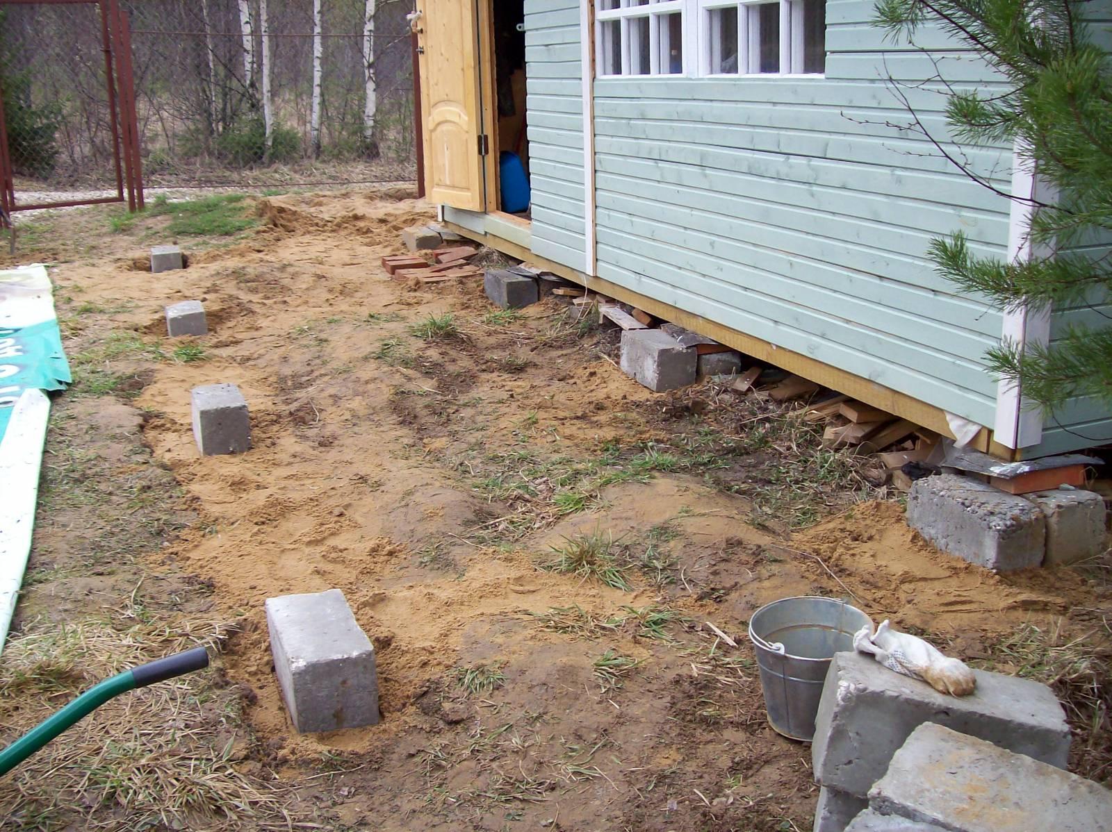 Фундамент для дачного дома: технология строительства 10